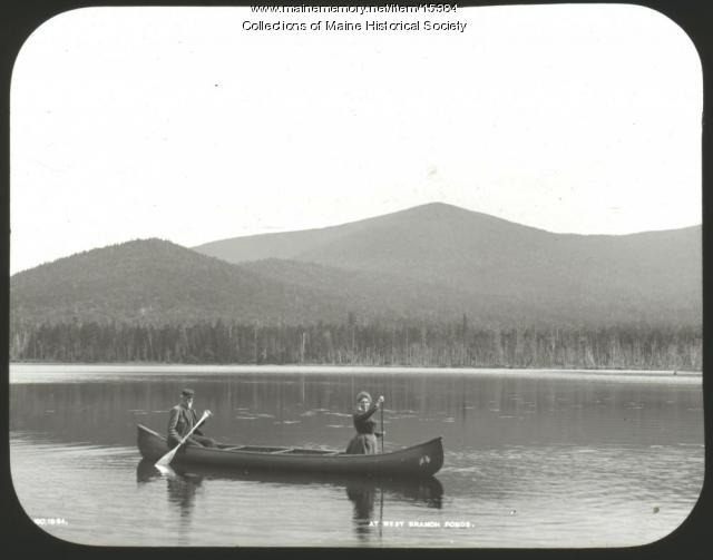 West Branch ponds, ca. 1900