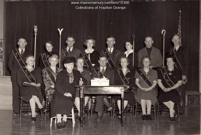 Houlton Grange Officers, 1943