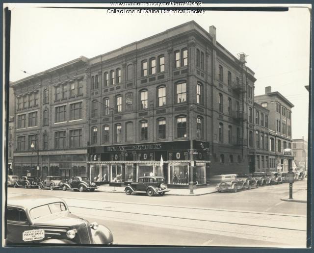 Hogan Brothers and Eastman Brothers & Bancroft, Portland, ca. 1936