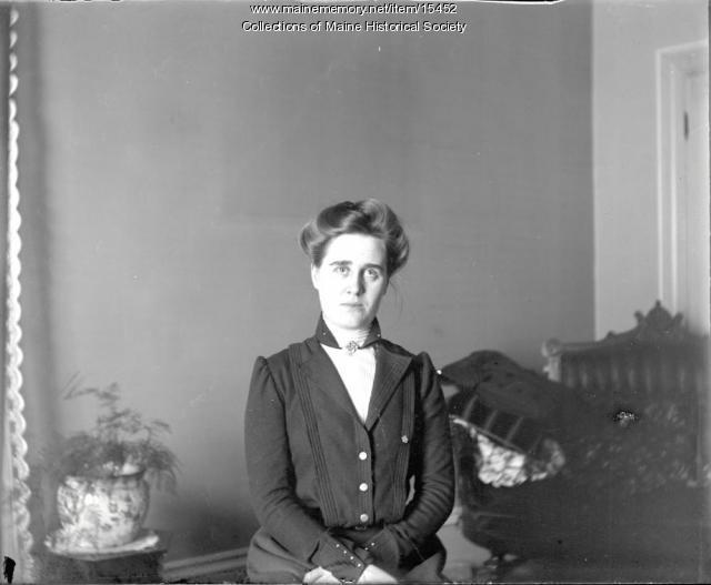 Jennie M. Coffin, Portland, ca. 1900