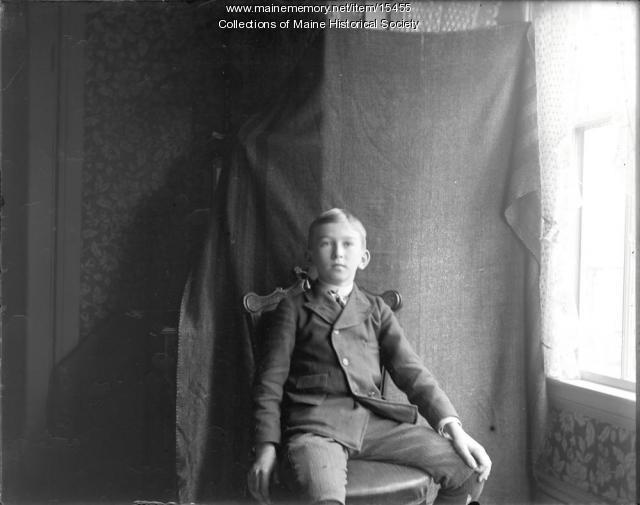 Harold Coffin, Portland, ca. 1900