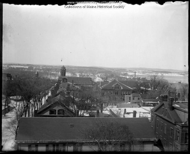Portland from YMCA building, ca. 1900