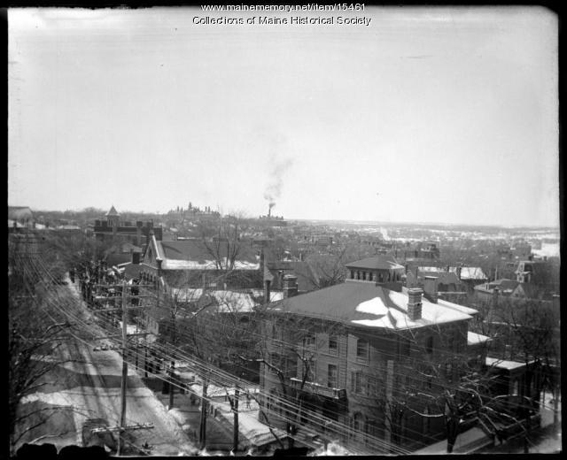 Portland, west from YMCA, ca. 1900