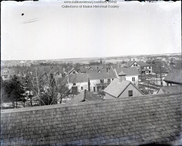 View from Glenwood Avenue, Portland, ca. 1900