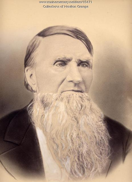 Reuben M. Mansur, Houlton, 1878