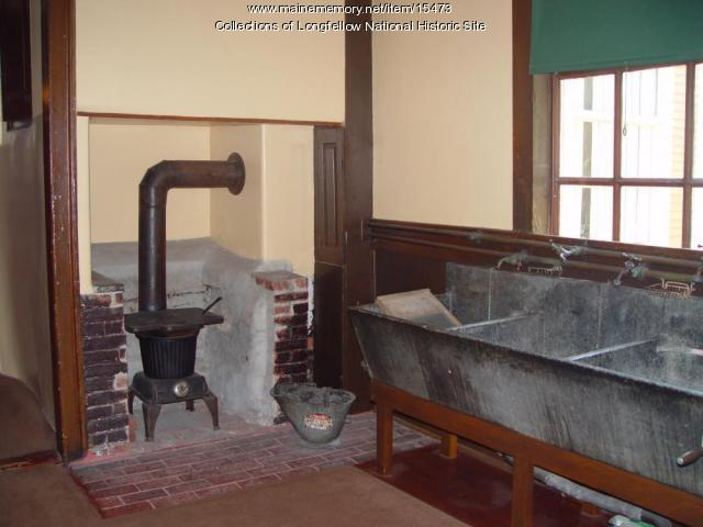 Laundry room in the Vassall-Craigie-Longfellow House