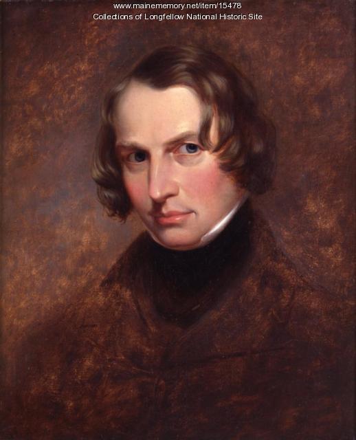 Portrait of Henry Wadsworth Longfellow, 1840