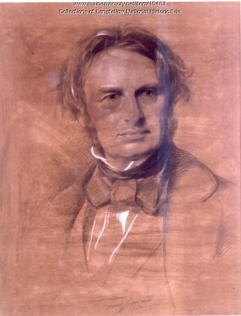 Portrait of Henry Wadsworth Longfellow