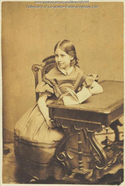 Alice Longfellow, age 9