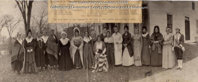 Houlton Daughters of the American Revolution, 1922