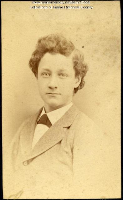 Frank D. Lunt, Portland, ca. 1880