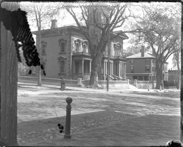 Morse-Libby House, Portland, 1901