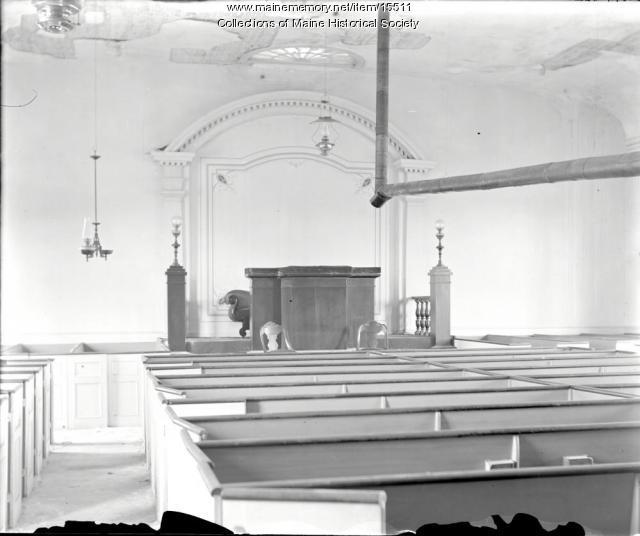 Bradley Meeting House, Portland, ca. 1900