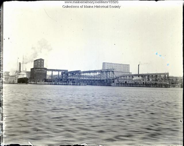 View of Portland, ca. 1900