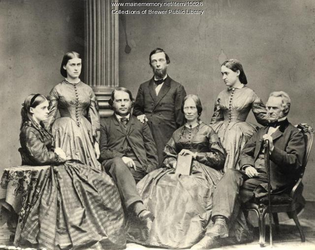 Page family, George W. Field, Brewer, ca. 1870