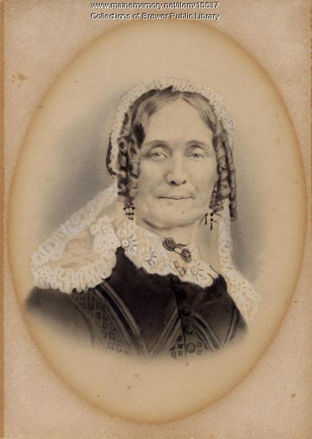 Sarah Brastow Chamberlain, ca. 1880