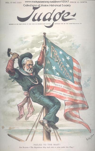 Nailed to the Mast!, 1889