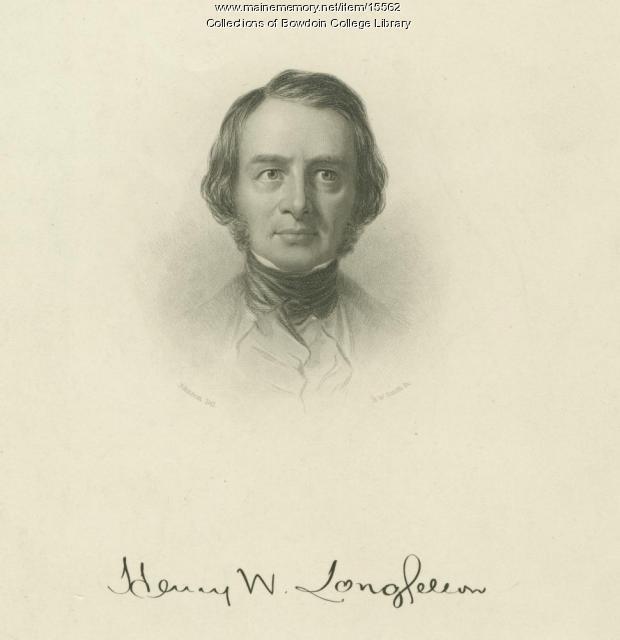 Henry W. Longfellow, ca. 1846