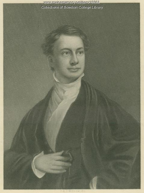 Henry W. Longfellow, ca. 1830