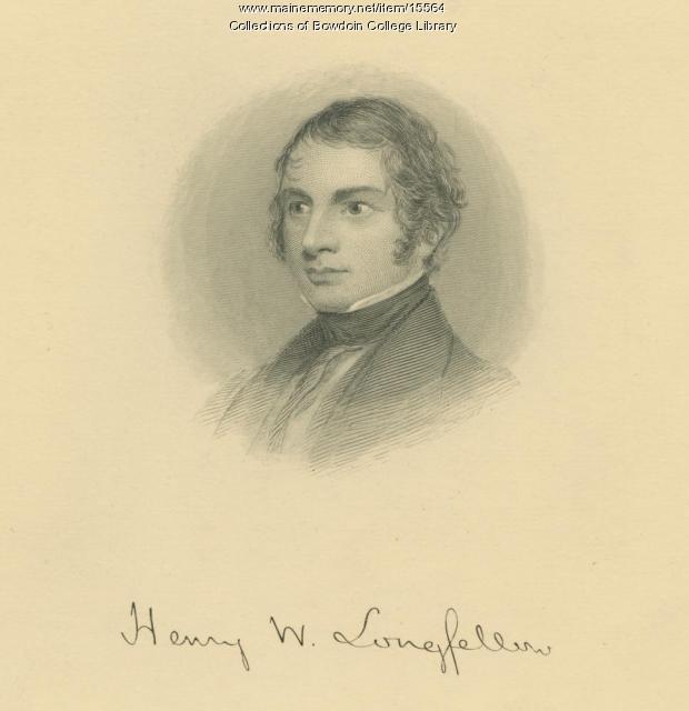 Henry W. Longfellow, ca. 1825