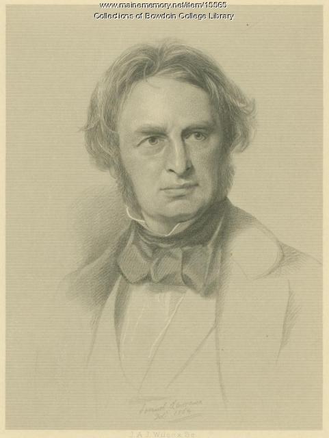 Henry Wadsworth Longfellow, 1854