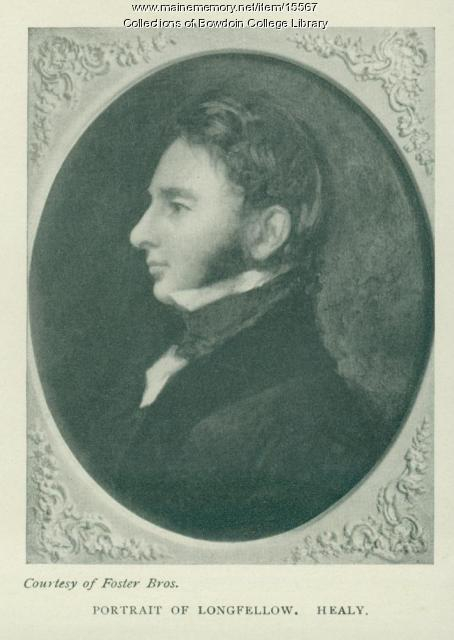 Portrait of Longfellow
