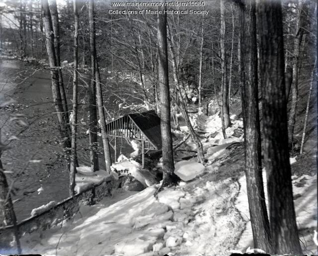 Freshet, Riverton Park, Portland, 1900