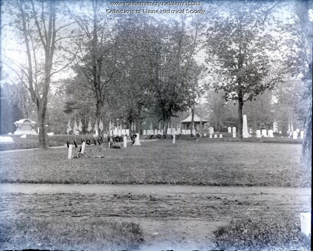 Evergreen Cemetery, Portland, ca. 1900
