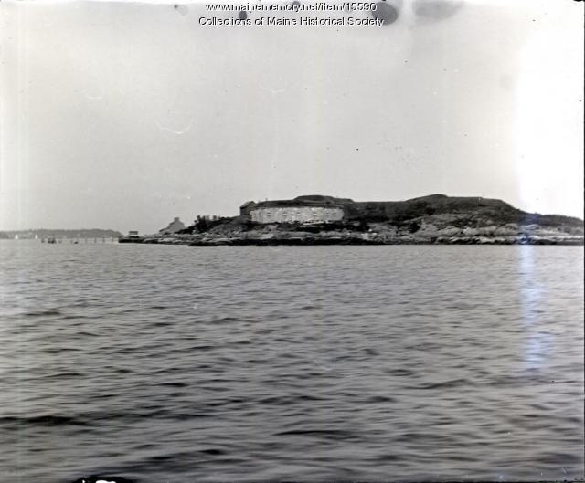 Fort Scammel, Portland, ca. 1900