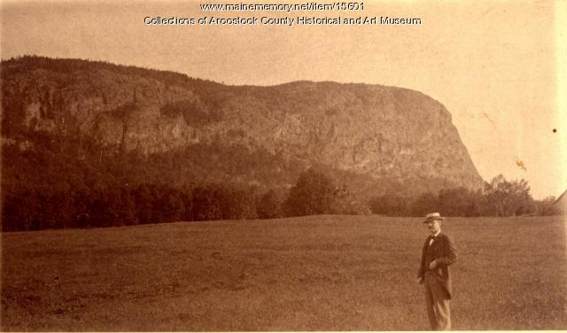 G. W. Richards at Mount Kineo, 1894