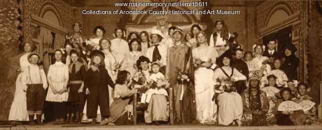 Houlton Women's Club play, 1914
