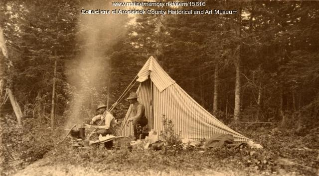 Walter Mansur and E. B. White, Aroostook Woods, ca. 1895