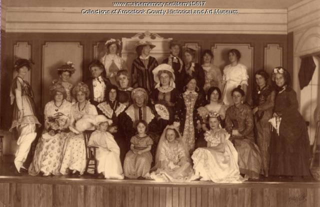 Houlton Women's Club Pagent, 1914