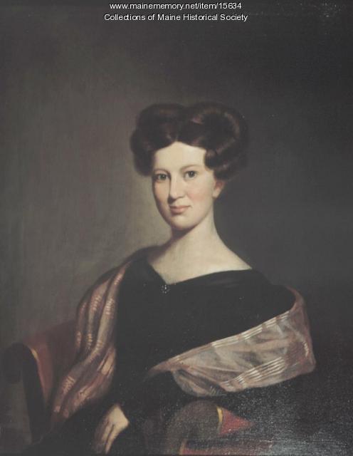 Anne Longfellow Pierce, Portland, 1830