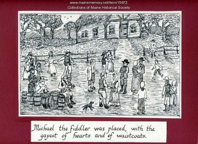 Michael the fiddler...