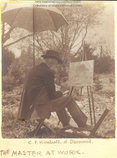 C.F. Kimball, Portland, ca. 1900