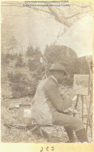 John Calvin Stevens, Portland, ca. 1900