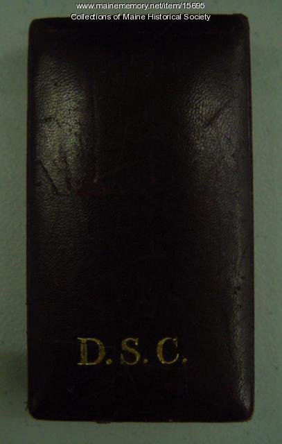 Distinguished Service Cross case, 1919