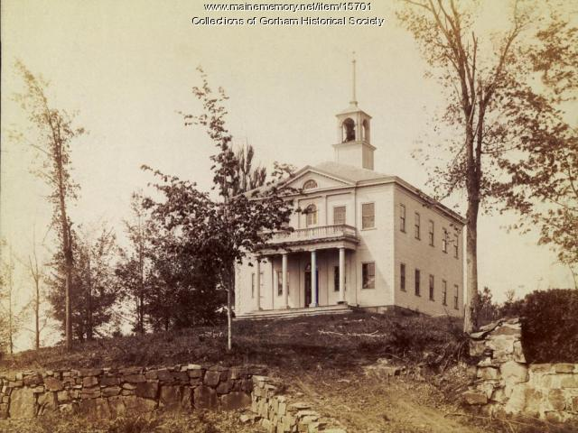 Gorham Academy in 1886