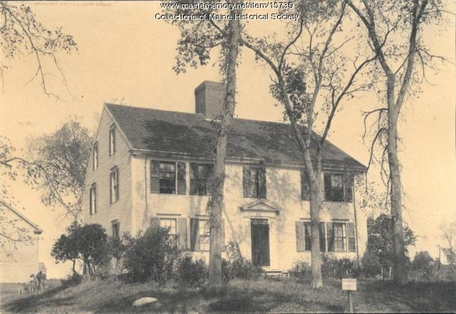 Longfellow Farm, Gorham, 1903