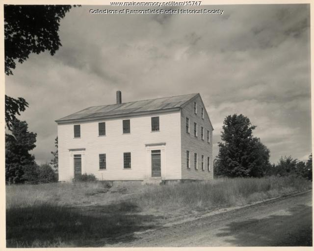 Meetinghouse, Porter, ca. 1947