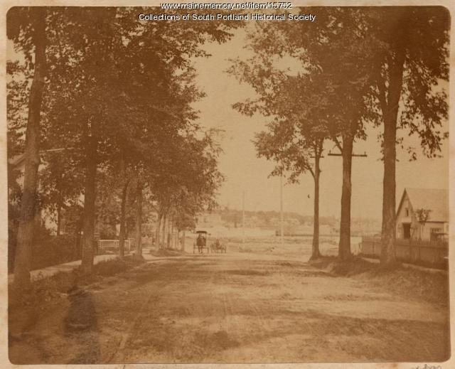 Ocean Street, Knightville, Cape Elizabeth, 1890