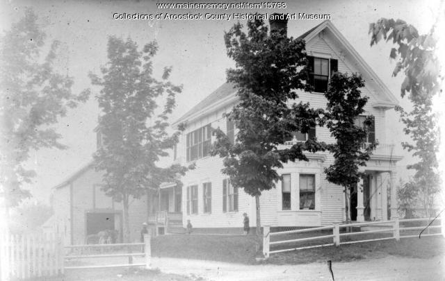 A house on Kelleran Street, Houlton, c. 1900