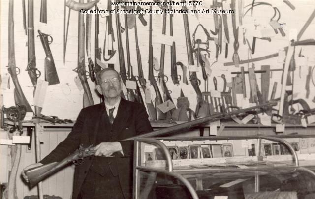 Ransford W. Shaw, Houlton, ca. 1940