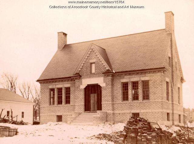 Cary Library, Houlton, 1904