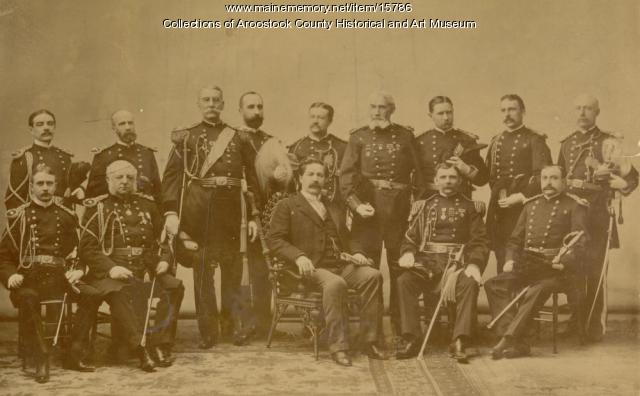 Governor Llewellyn Powers and council, ca. 1897