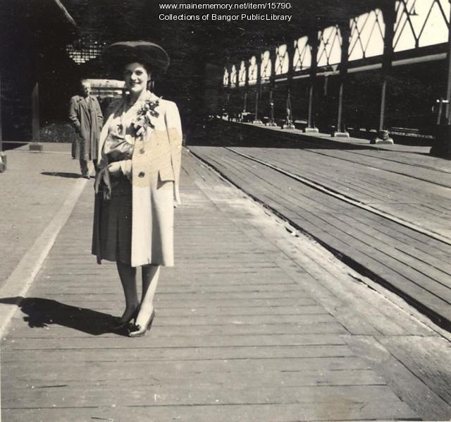 Irene Casey, Bangor, 1943