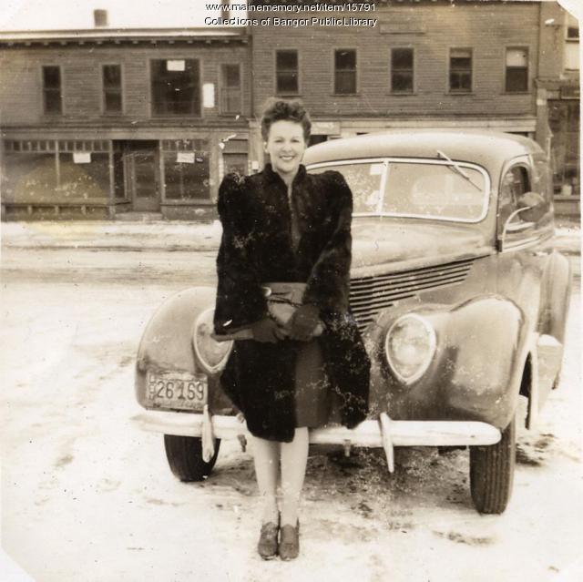 Louise Surette, Bangor, 1944