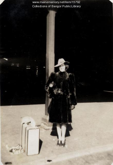 Louise Surrette, Bangor, 1943