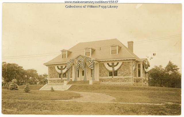 William Fogg Library, Eliot, 1910